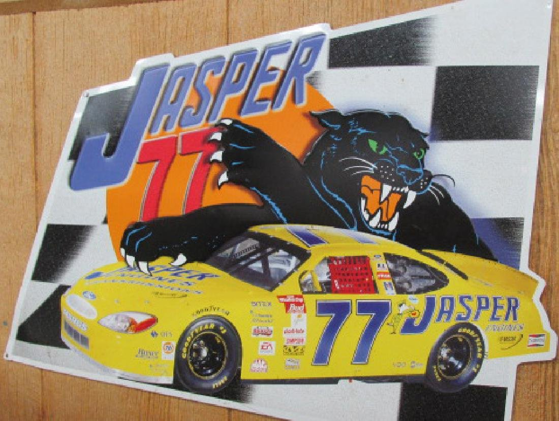 Jasper Metal Sign w/Panther