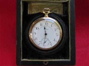 E. Howard 14K 23J Pocket Watch