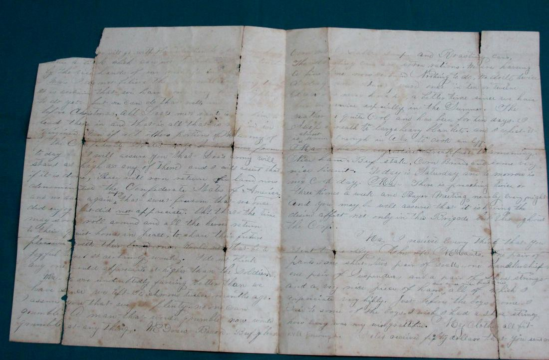 186? Confederate Soldier Letter to His Alabama Mother - 2