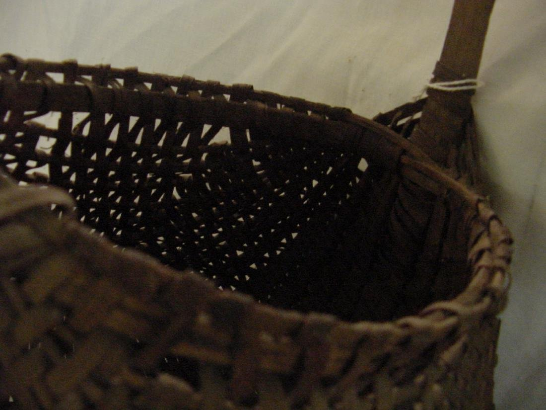 East Tenn. Egg Basket Hand Woven Splits - 2