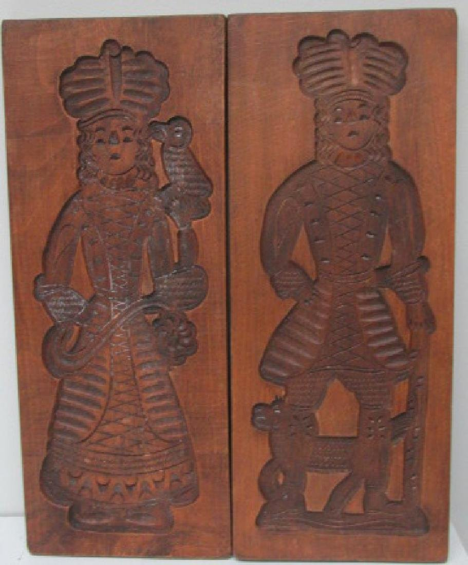 Mahogany Large Cookie Molds