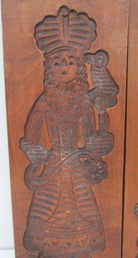 Mahogany Large Cookie Molds - 2