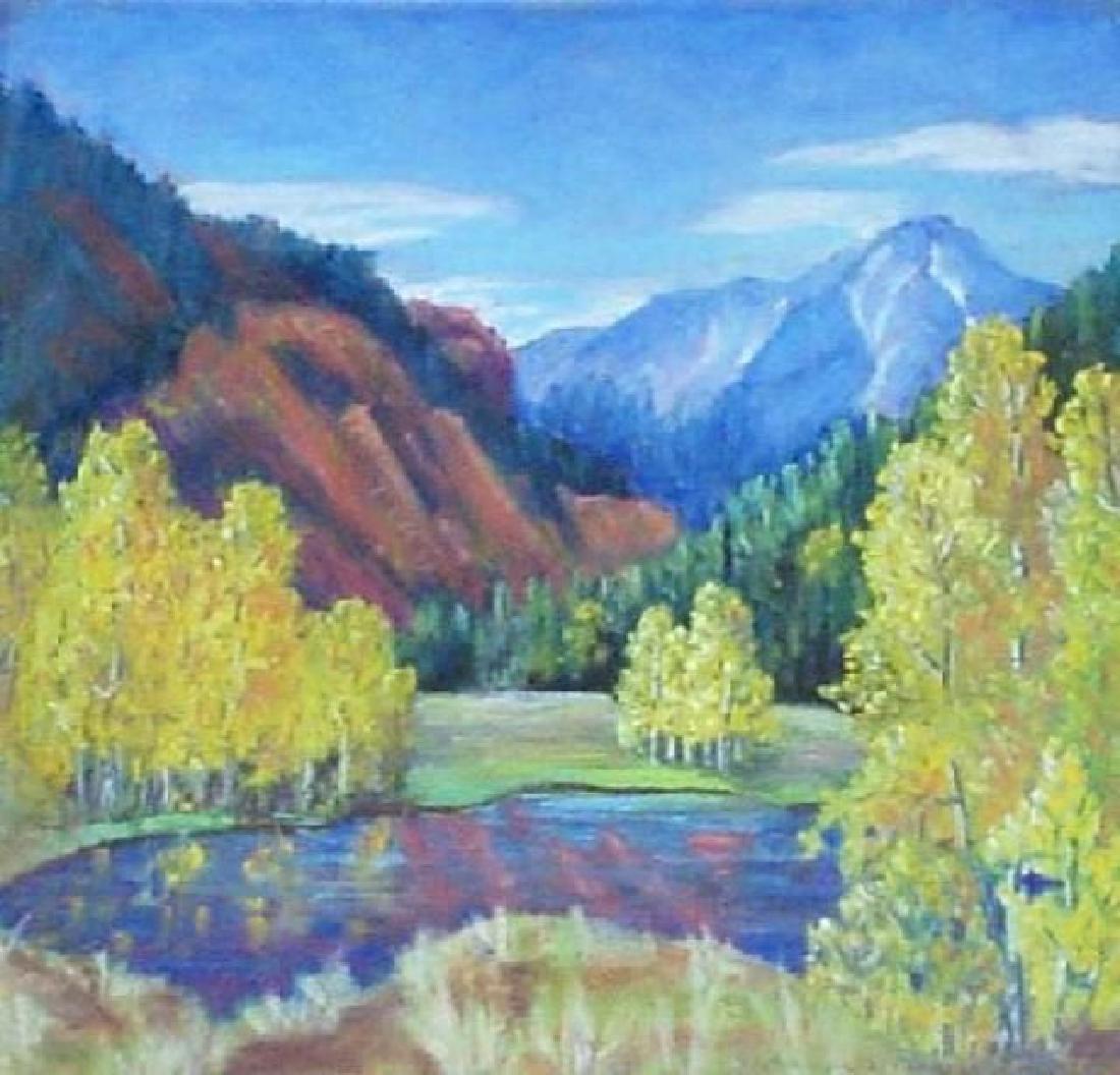 Color Reflections by Adalene W parrish, Denver
