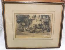 1875 F A Bridgman Arab Moorish Engraving