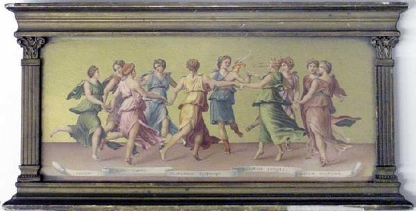 1006: Dancing Classical Maidens Print