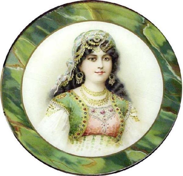 1017: A Victorian Gypsey Girl Print