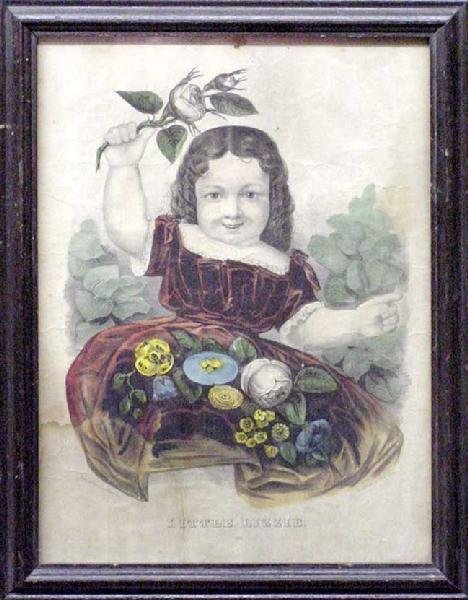 1023: Little Lizzie by Currier & Ives