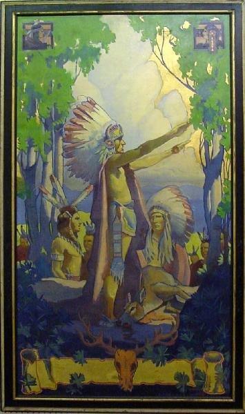 1024: Indian Wedding by Belanski, 1931