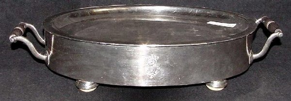 2003: 19th Century British Silver Plated Meat Or Hot Fo
