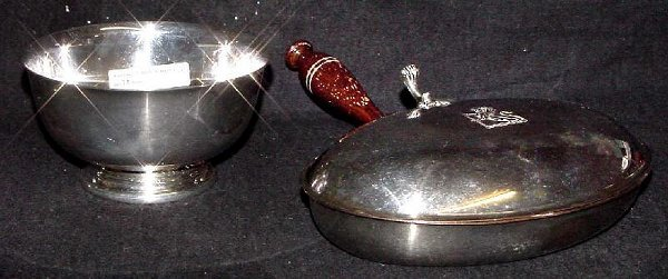 2014: Gorham Electroplate Revere Bowl 5 Inches Wide by