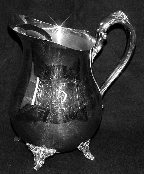 2069: Oneida Silver Plated Classical Form Water Pitcher