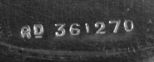 2080: EP  St. & Co., # Rd 361270 Oblong Lattice Pierced - 3