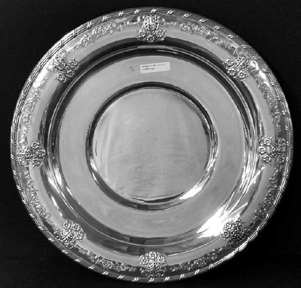 2265: Ardsley Tudor Plate Oneida Community # 2020 Large - 2