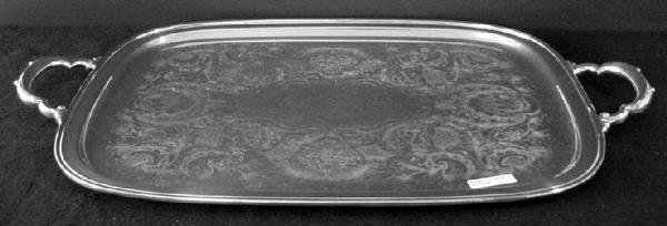 2297: Georgian Court Tray, International Silver Co., Pl