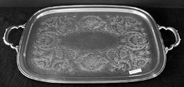 2297: Georgian Court Tray, International Silver Co., Pl - 2