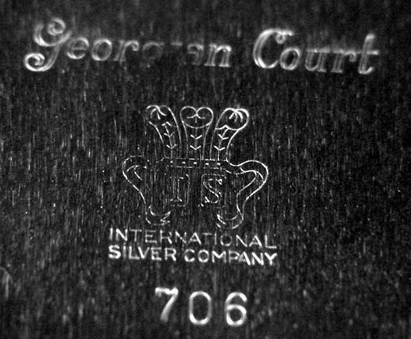 2297: Georgian Court Tray, International Silver Co., Pl - 3