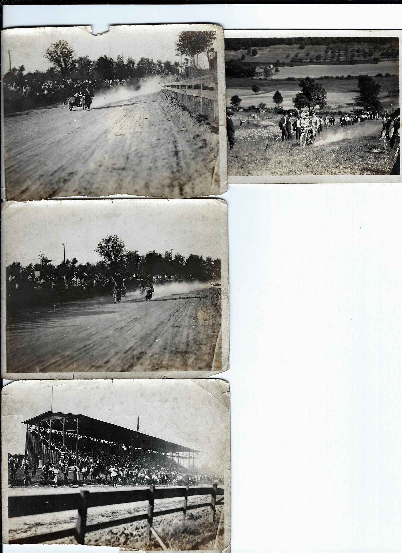 1920s Motorcycle Tennessee Race