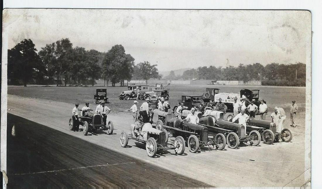 1927 Newport Championship Auto Race Photos