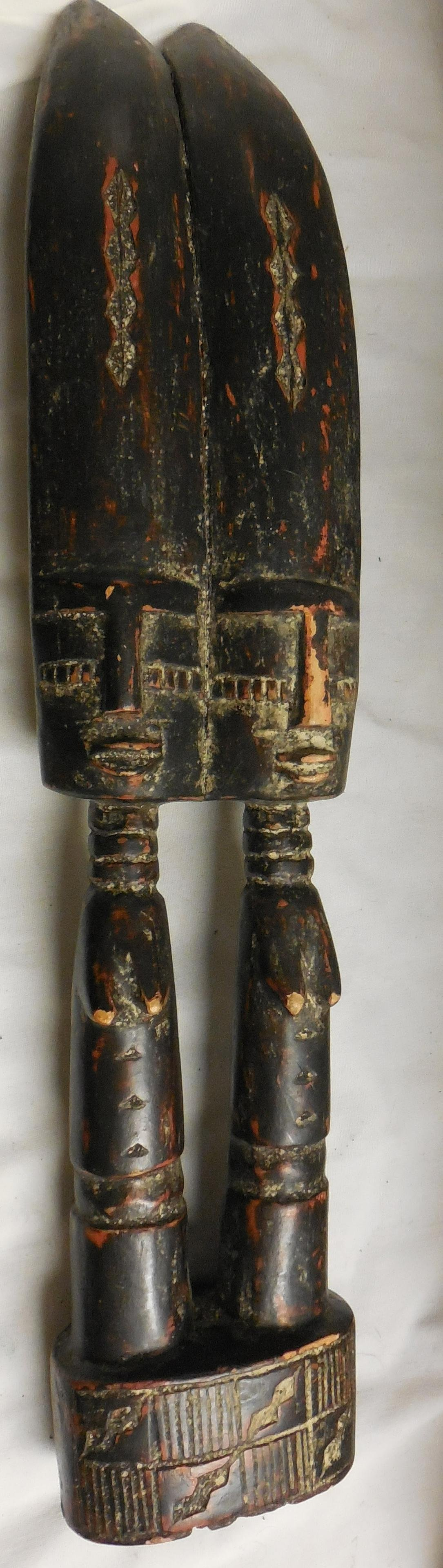 African Carved Fertility Females