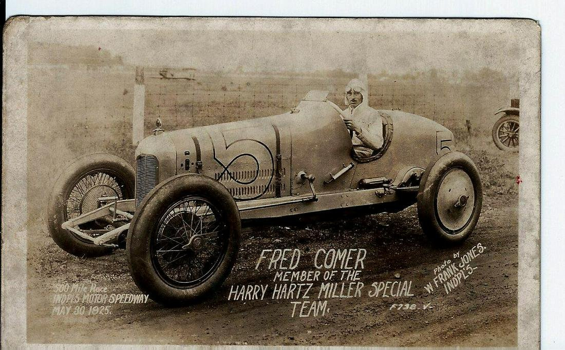 Fred Comer Indy 500 Race Photo