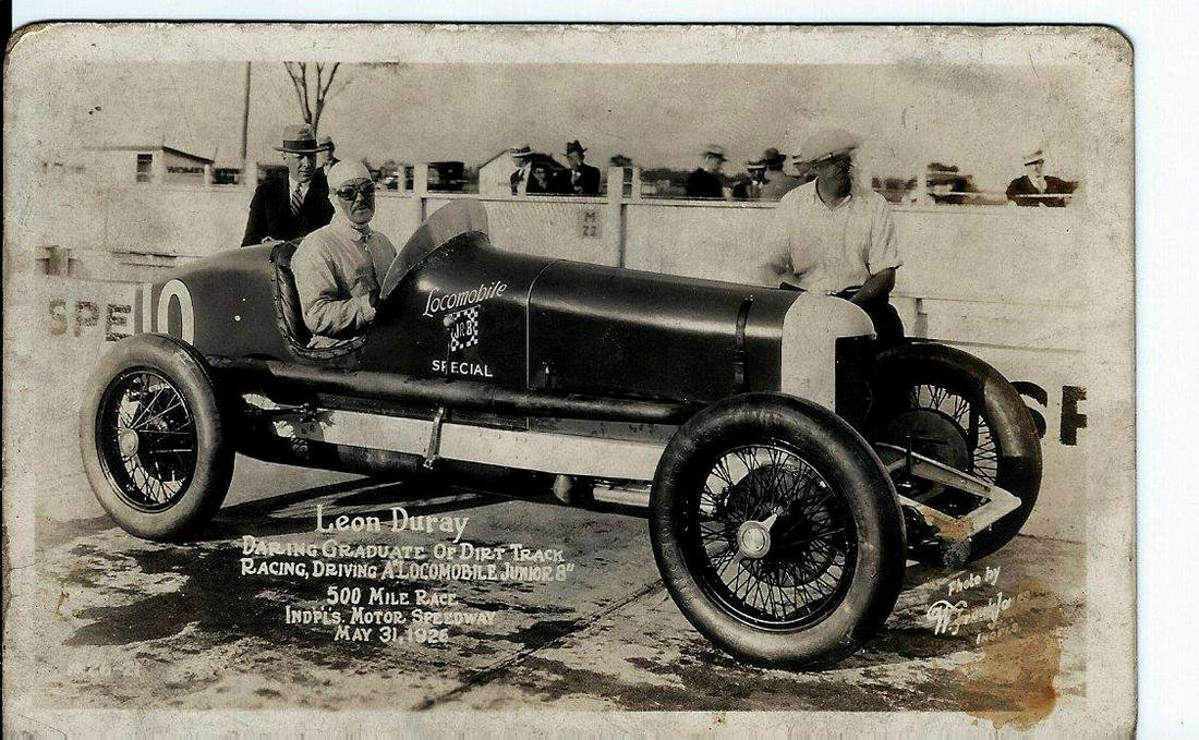 Leon Duray 1926 Indy 500 Race Photo