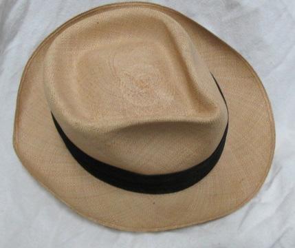 50s Panama Straw Hat