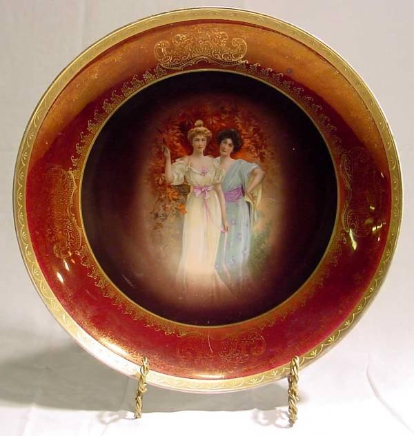 1003: Victoria Austria 1900 Era Plate