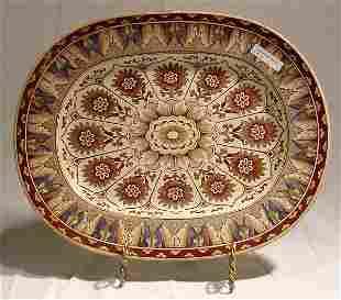 Brownfield Cypress Pattern Platter