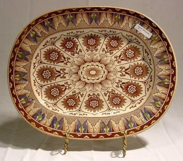 1019: Brownfield Cypress Pattern Platter