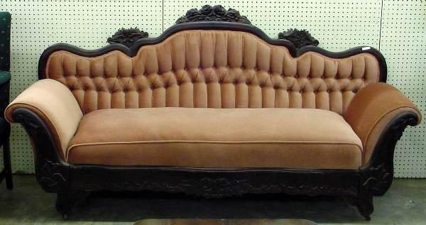 1020: 1830s American Empire Sofa