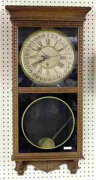 Oak Gilbert Calendar Clock