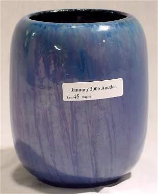 Chinese Blue Flambe Fulper Vase