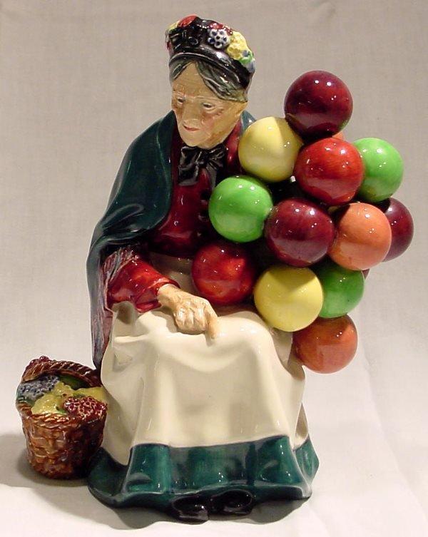 1046: Royal Doulton The Old Balloon Seller Figurine HN