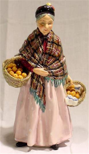 Royal Doulton The Orange Lady Figurine HN 1759