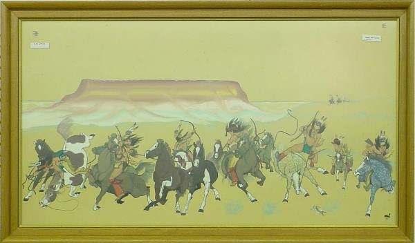 1228: Tahoma American Indian Scene