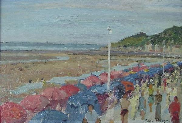 Paul Arzens   - Beach Umbrellas