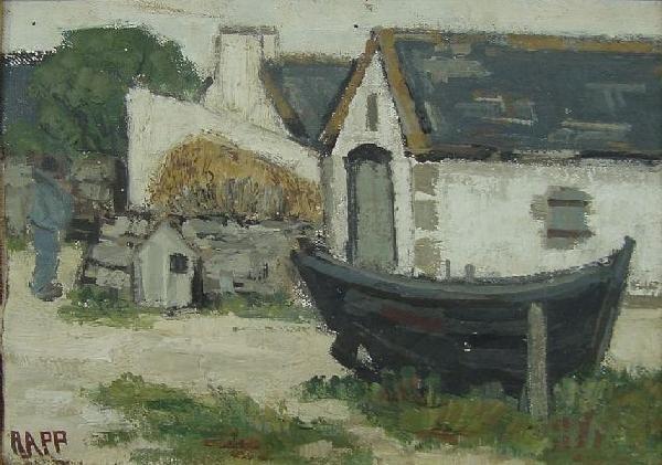 Ginette Rapp - Le Loch Bretagne, Fr.