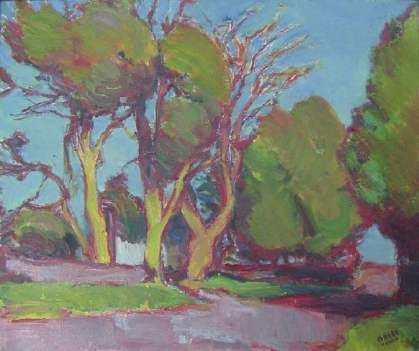 Jean Dries - Pines At Orbee