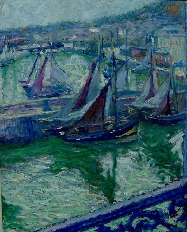 William Malherbe, 1884-1951 - Honfleur-View, 1938