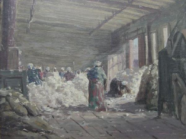 Harry L. Hoffman - The Cotton Pickery-Savannah