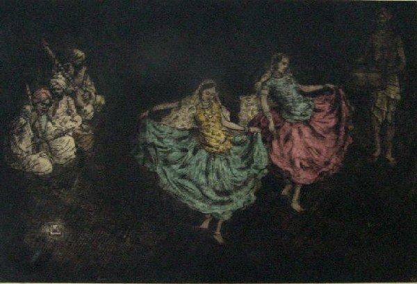 Charles W. Bartlett - Indian Musicians & Dancers