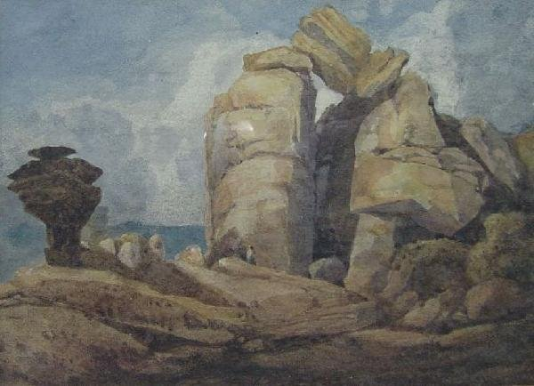 James Bulwer - Brenham Rocks Near Harrow Gate