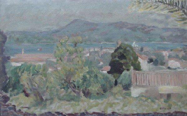 Pierre Bonnard - Landscape St. Tropez