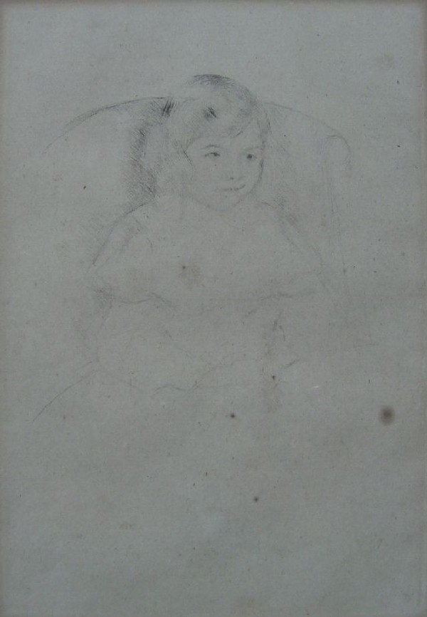 Mary Cassatt  - Sarah