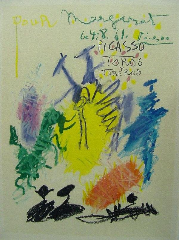 Pablo Picasso - To Margaret, From The Toros Y Torres