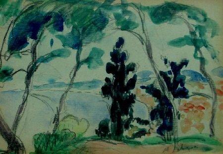 1: H. Lebasque Water Scene