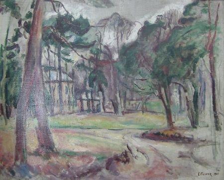 5: E. Othon Friesz Bright Landscape w/House