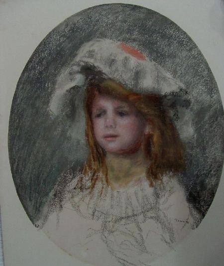 8: A. Renoir Portrait of a Young Girl
