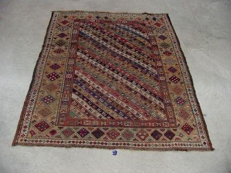 9: Antique Oriental Rug