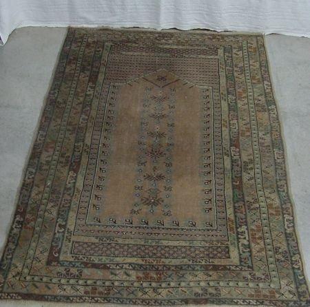 20: Antique Oriental Prayer Rug